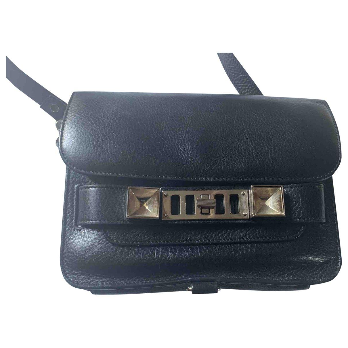 Proenza Schouler PS11 Black Leather handbag for Women \N