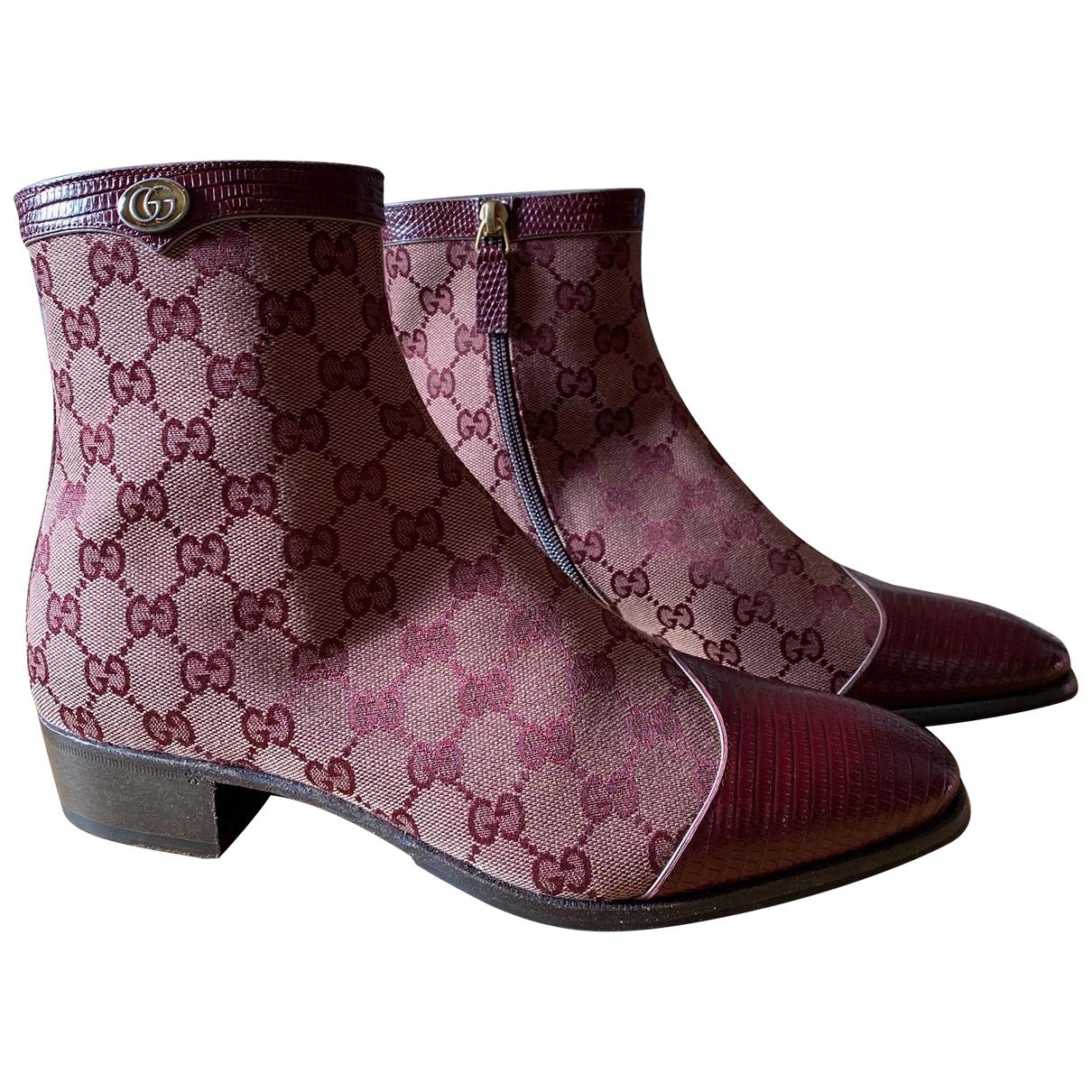 Botas de Lona Gucci