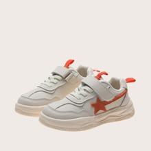 Jungen Sneakers mit Stern Grafik und Klettverschluss