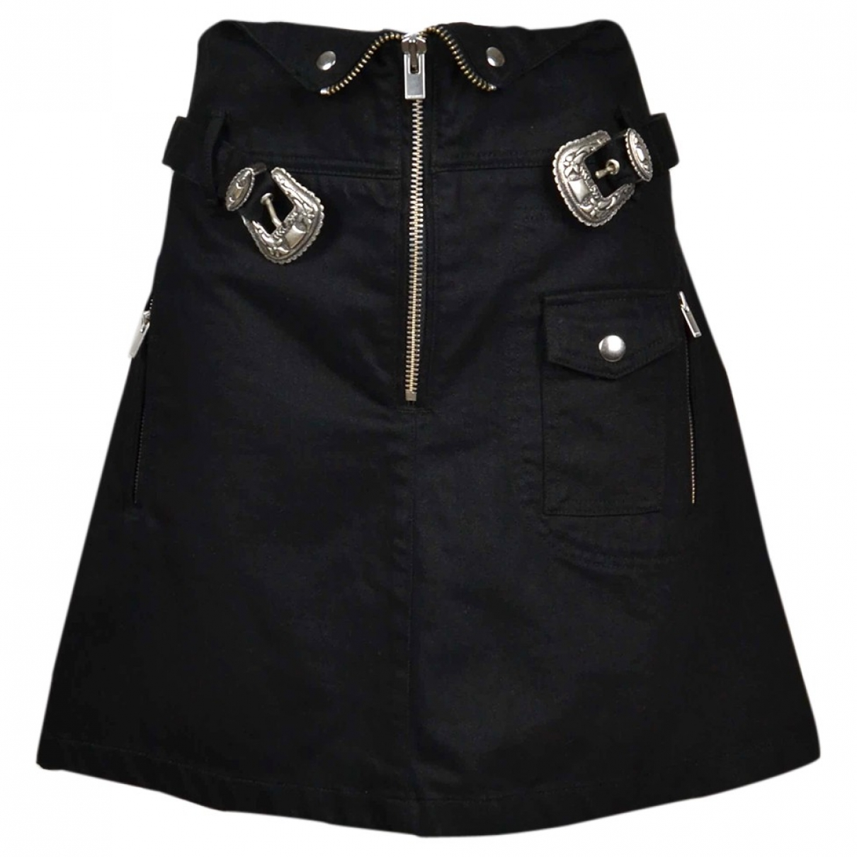 The Kooples \N Black Cotton skirt for Women 3 0-5
