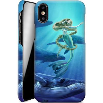 Apple iPhone XS Smartphone Huelle - Ocean Song von Selina Fenech