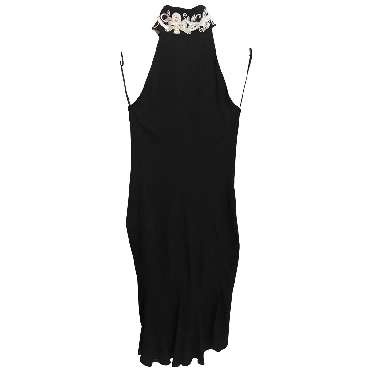 John Richmond - Robe   pour femme en soie - noir