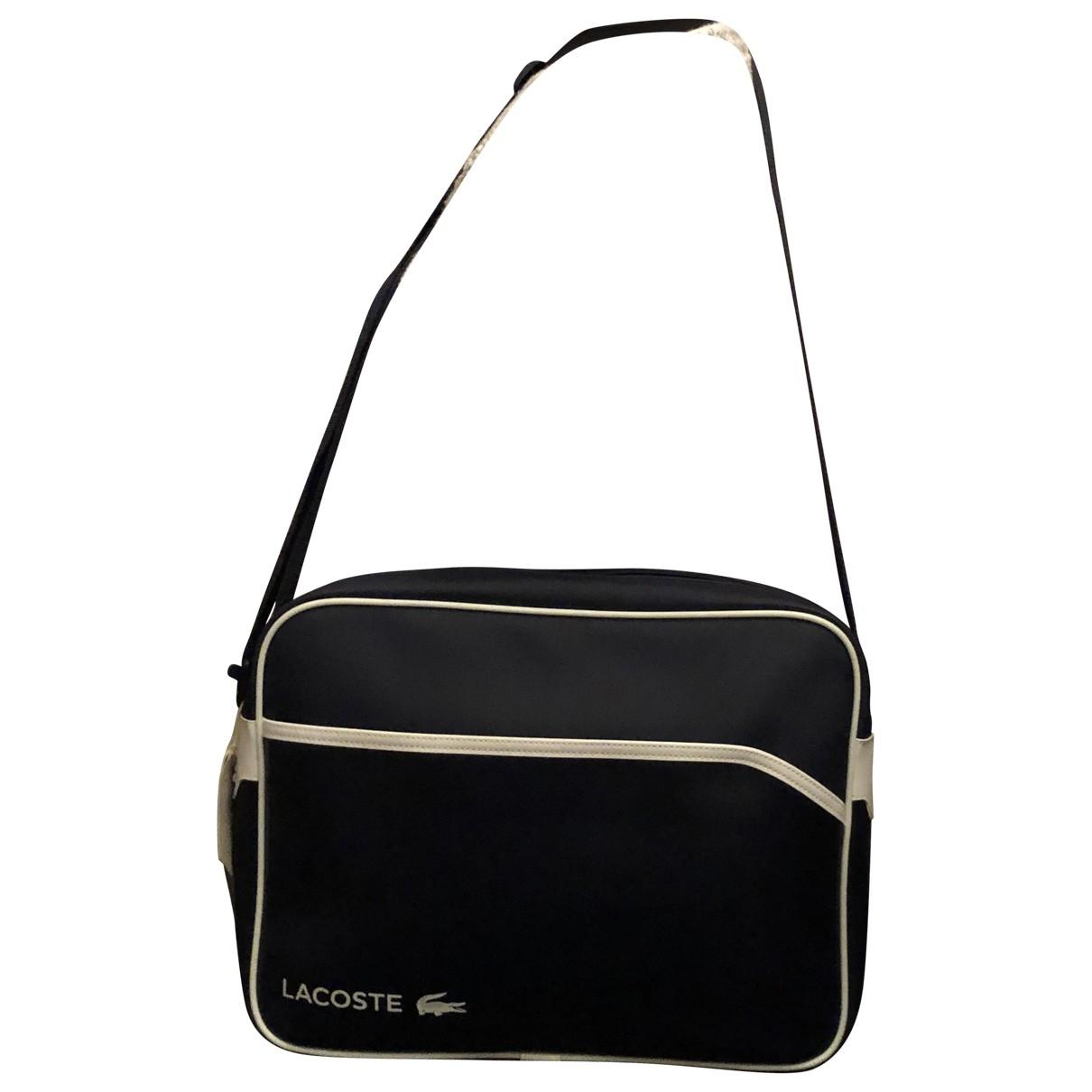 Lacoste \N Navy Leather bag for Men \N