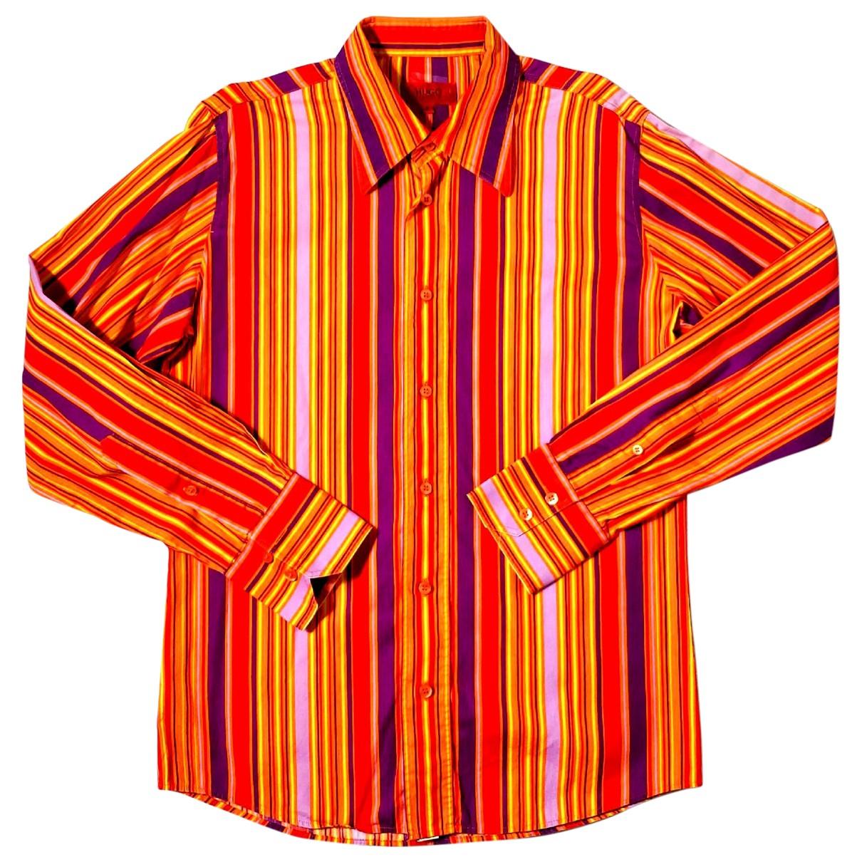 Hugo Boss \N Multicolour Cotton Shirts for Men S International