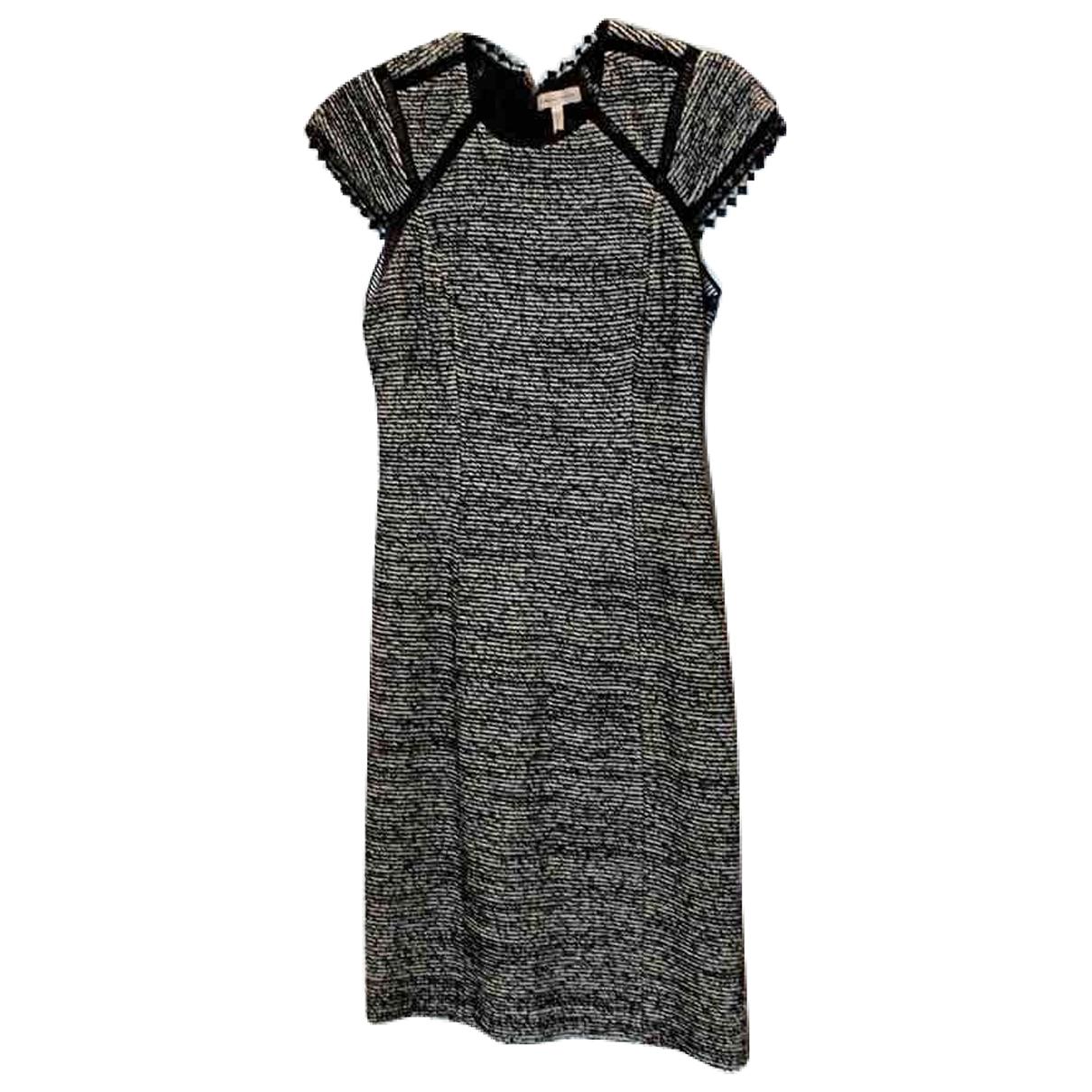 Vestido midi Tweed Rebecca Taylor