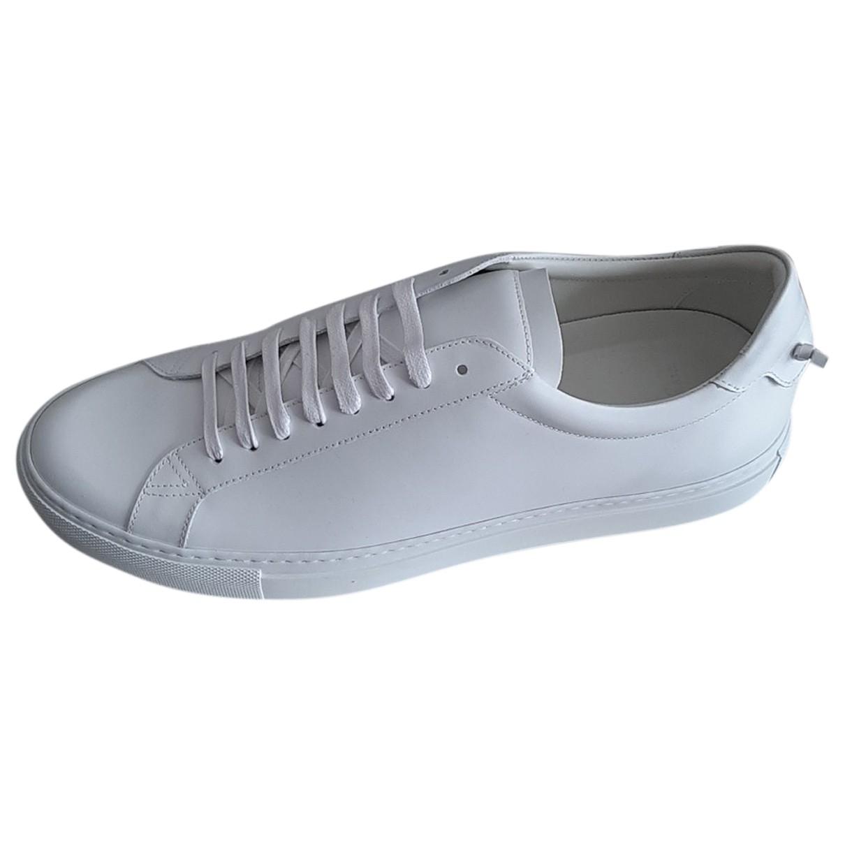 Givenchy - Baskets   pour homme en cuir - blanc