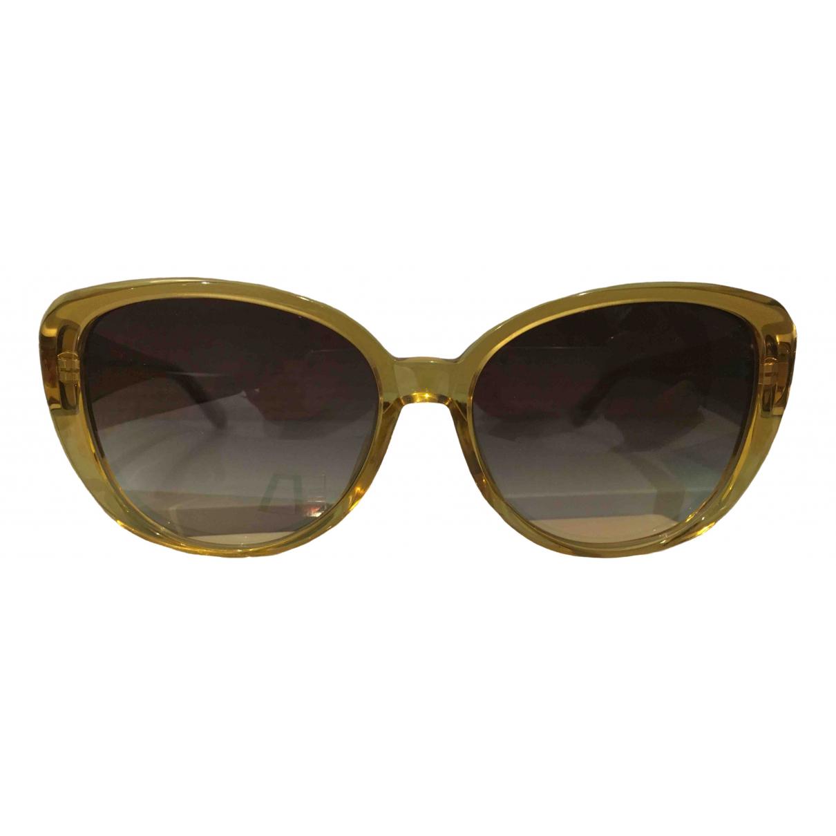 Linda Farrow \N Yellow Sunglasses for Women \N