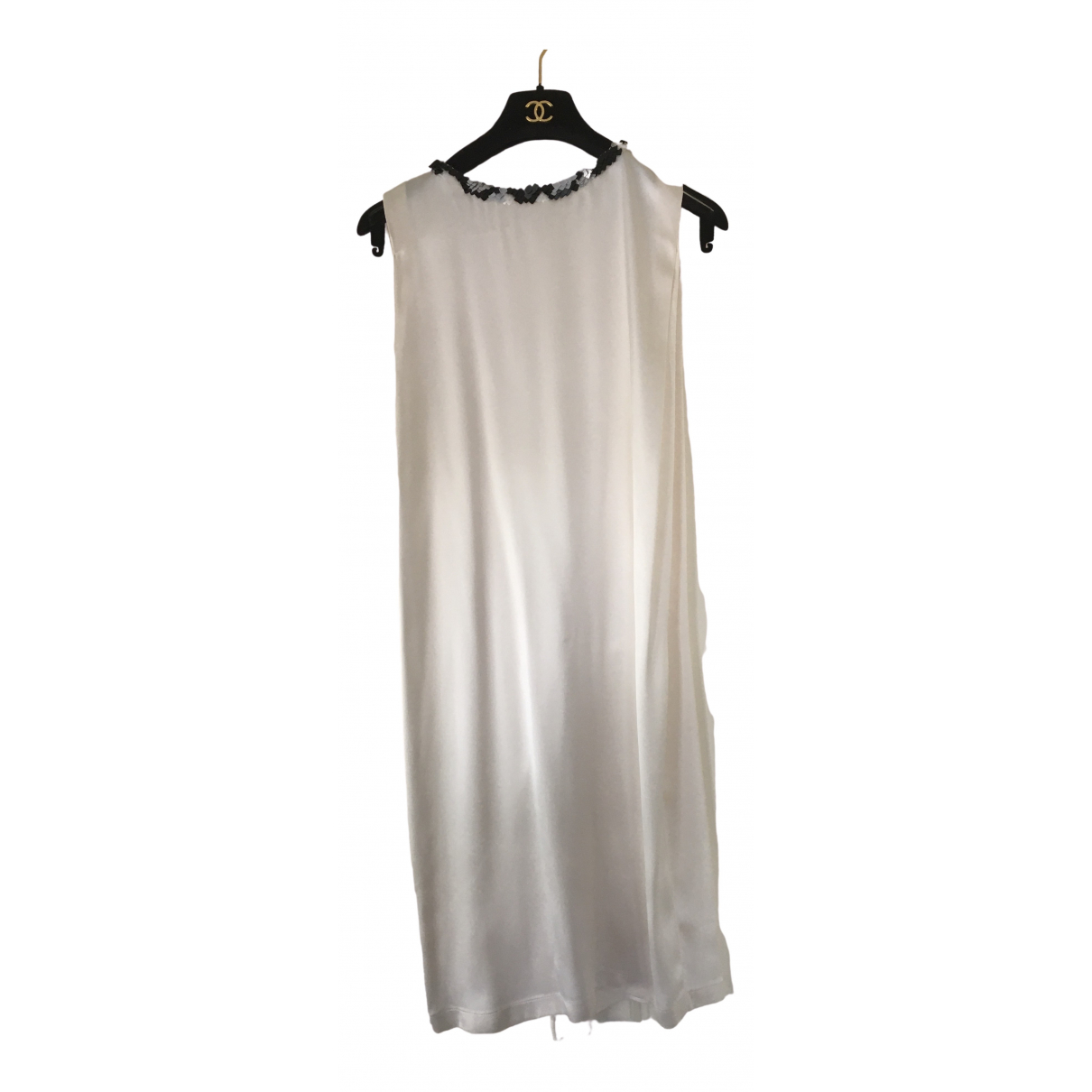 Chanel \N White Silk dress for Women 34 FR