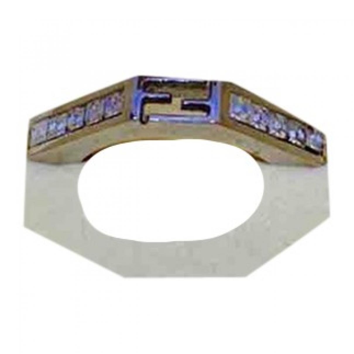 Fendi \N Ring in  Silber Metall