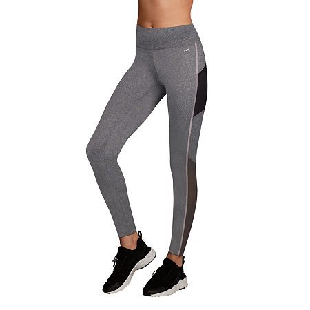 Maidenform Sport Baselayer Midweight High-Waisted Thermal Pants, X-large , Gray