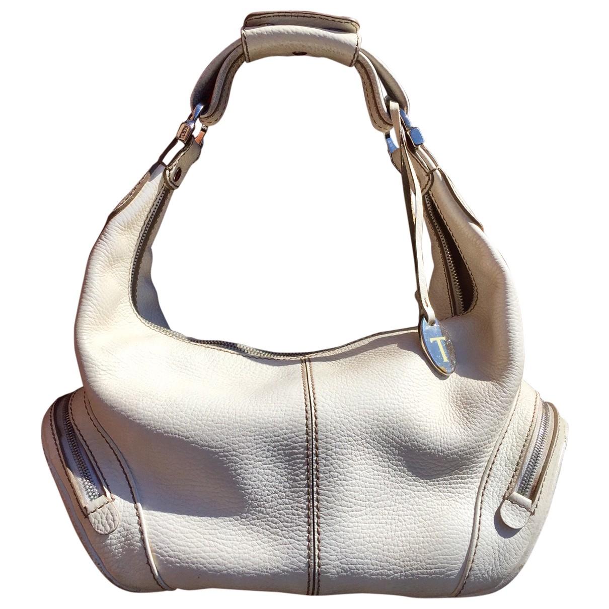 Tods \N Handtasche in  Weiss Leder