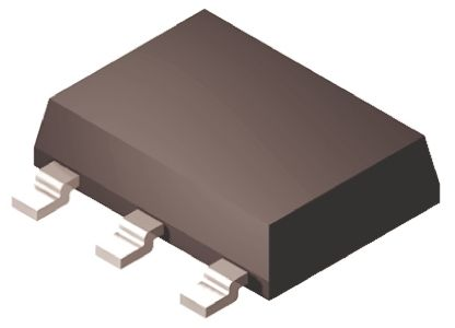 ON Semiconductor MC33375ST-3.3T3G, LDO Regulator, 300mA, 3.3 V, 2% 3+Tab-Pin, SOT-223 (10)