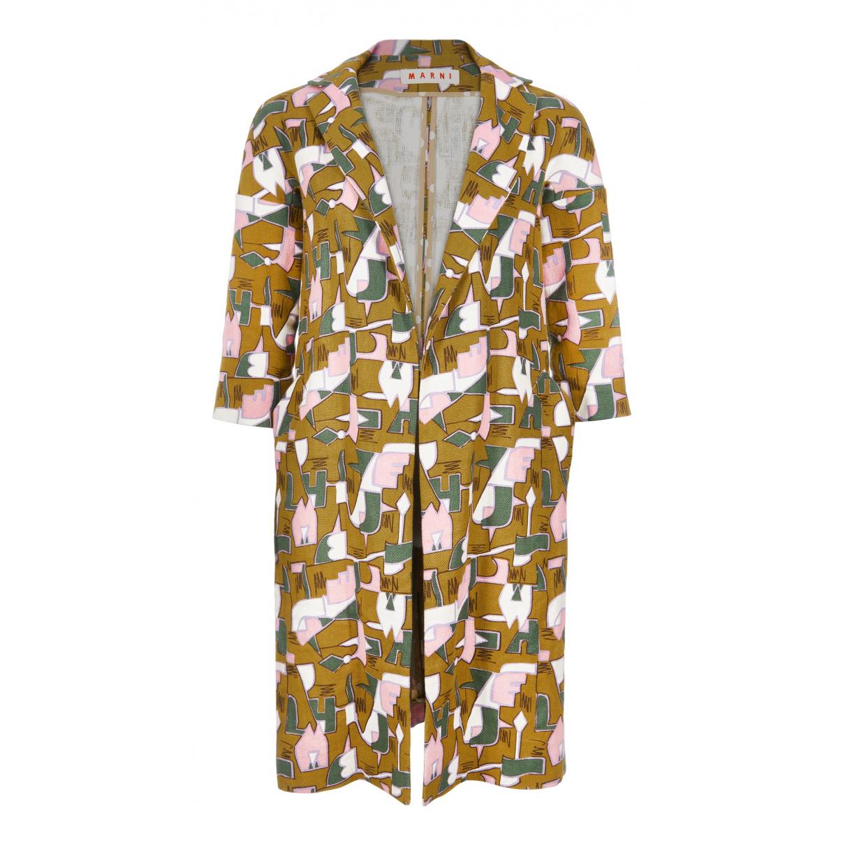 Marni - Veste   pour femme en lin - multicolore