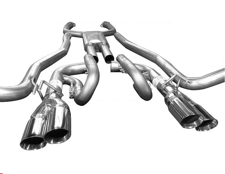 Solo Performance 993994SL Mach-Shorty-XF Exhaust Kit w/ Standard Dual Outlet Tips Chevrolet SS 2014-2018