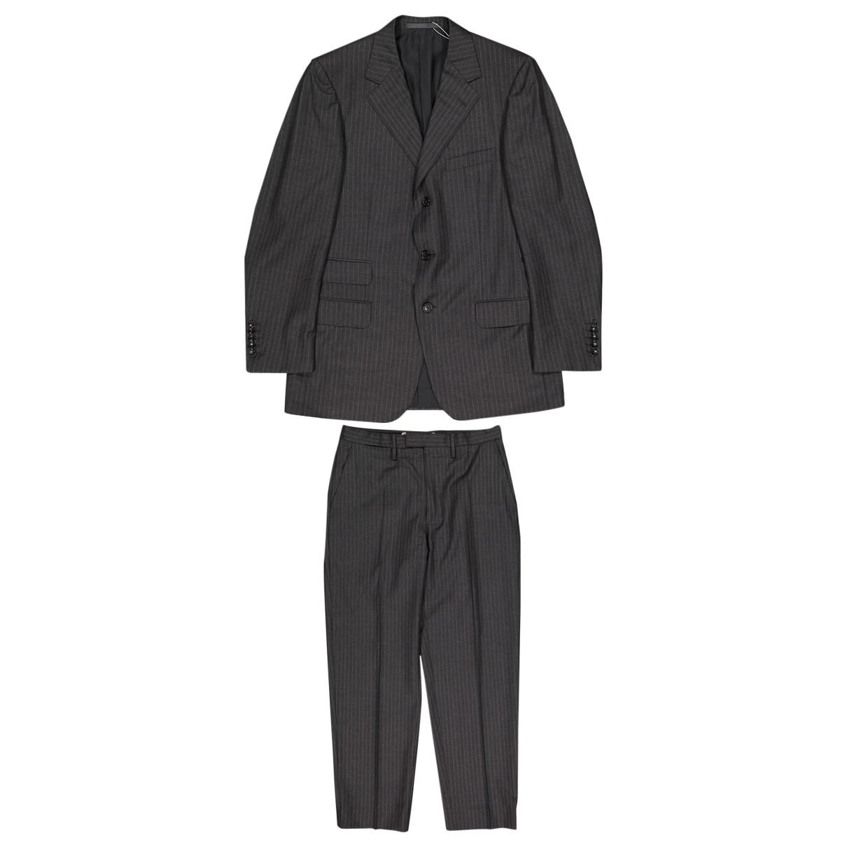 Gucci - Costumes   pour homme en laine - gris