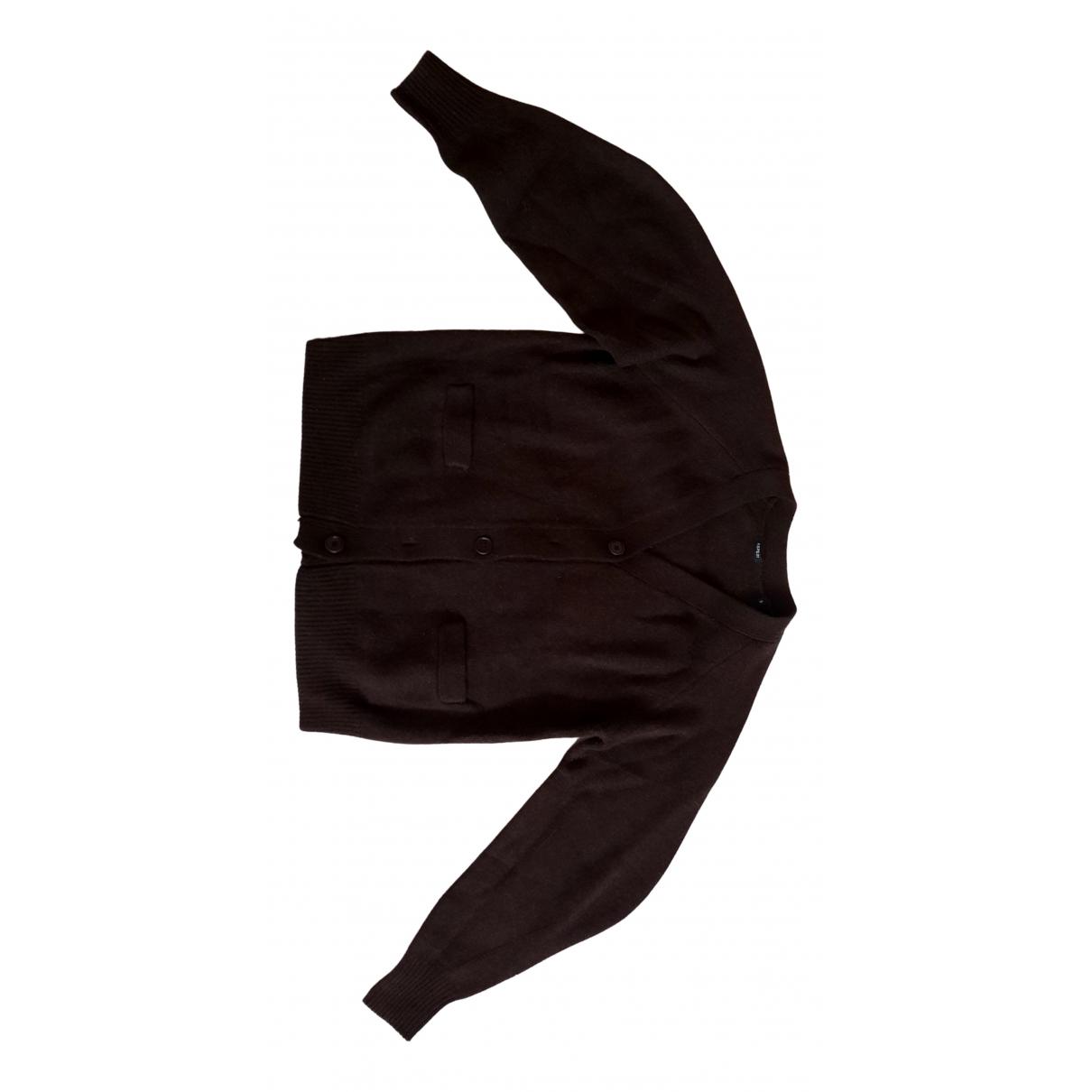 Aspesi N Brown Wool Knitwear for Women 42 IT