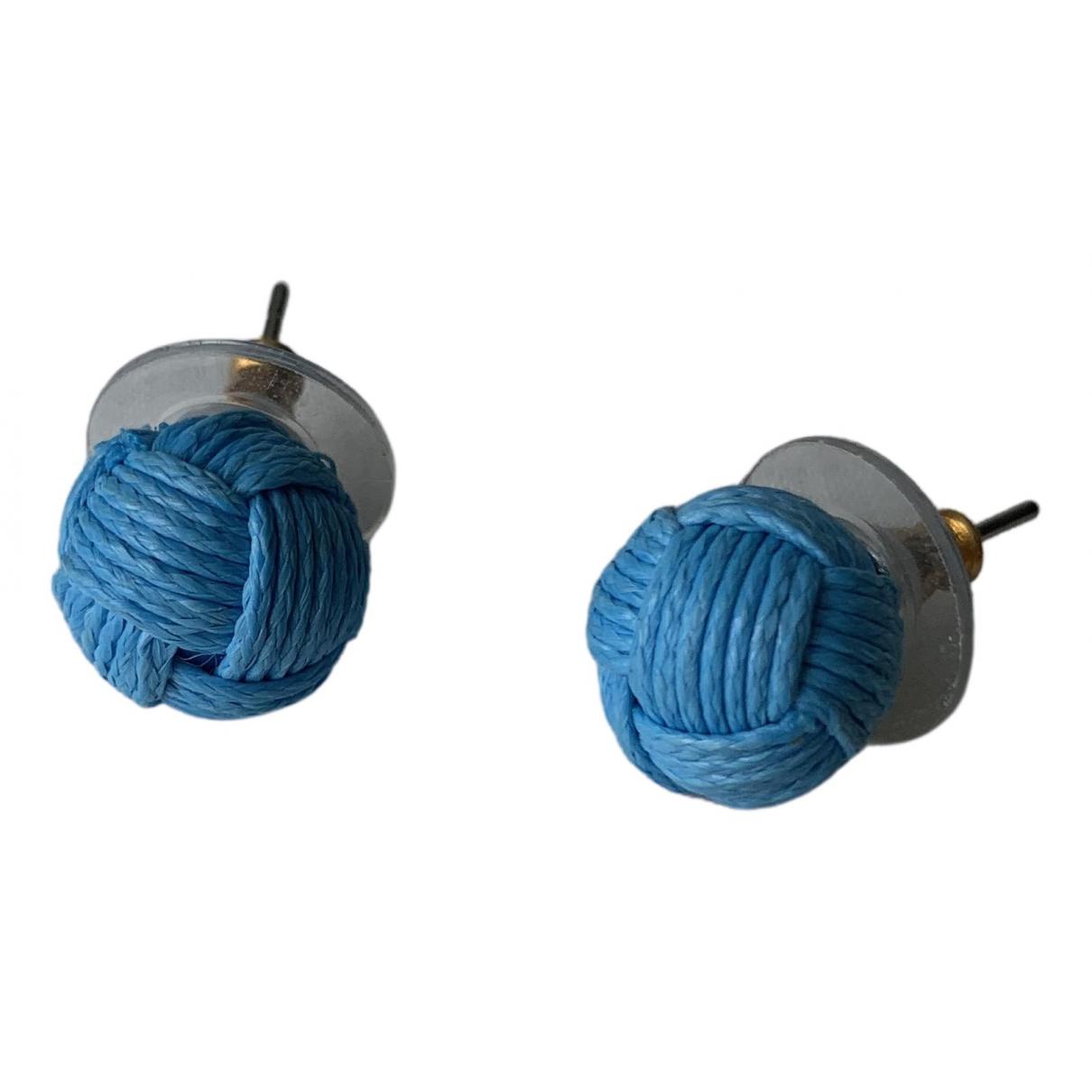 J.crew - Boucles doreilles   pour femme - bleu