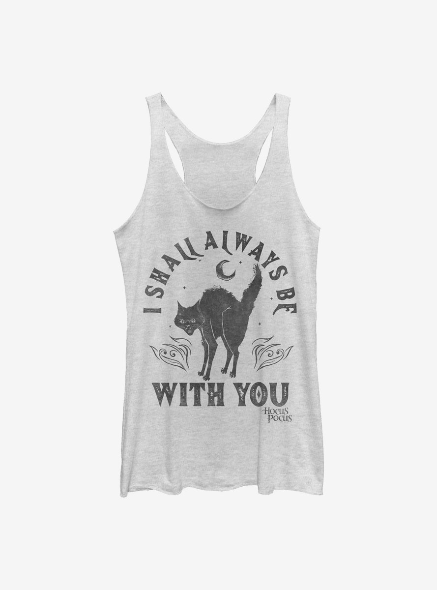 Disney Hocus Pocus Binx Will Be With You Womens Tank Top