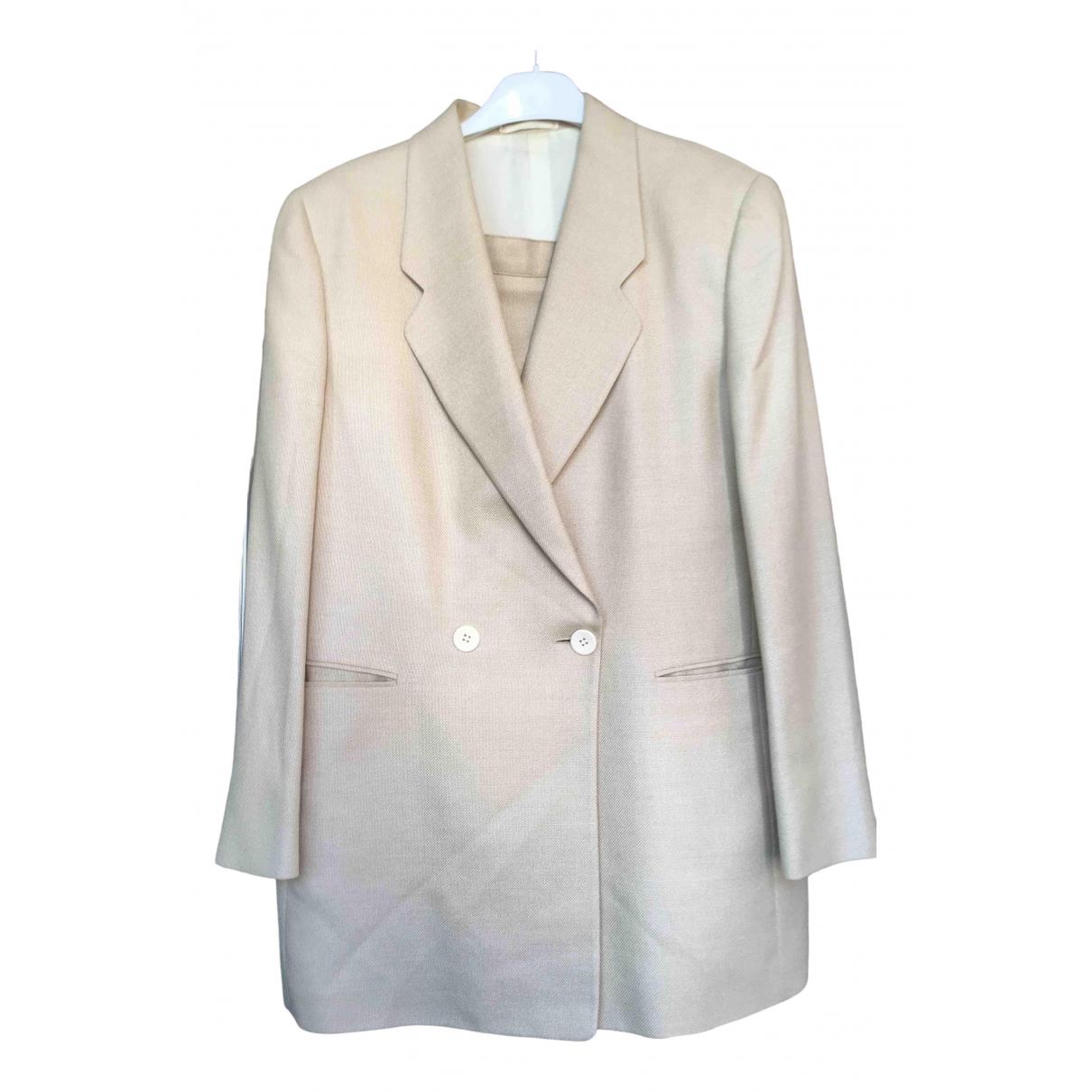 Ballantyne - Veste   pour femme en soie - beige