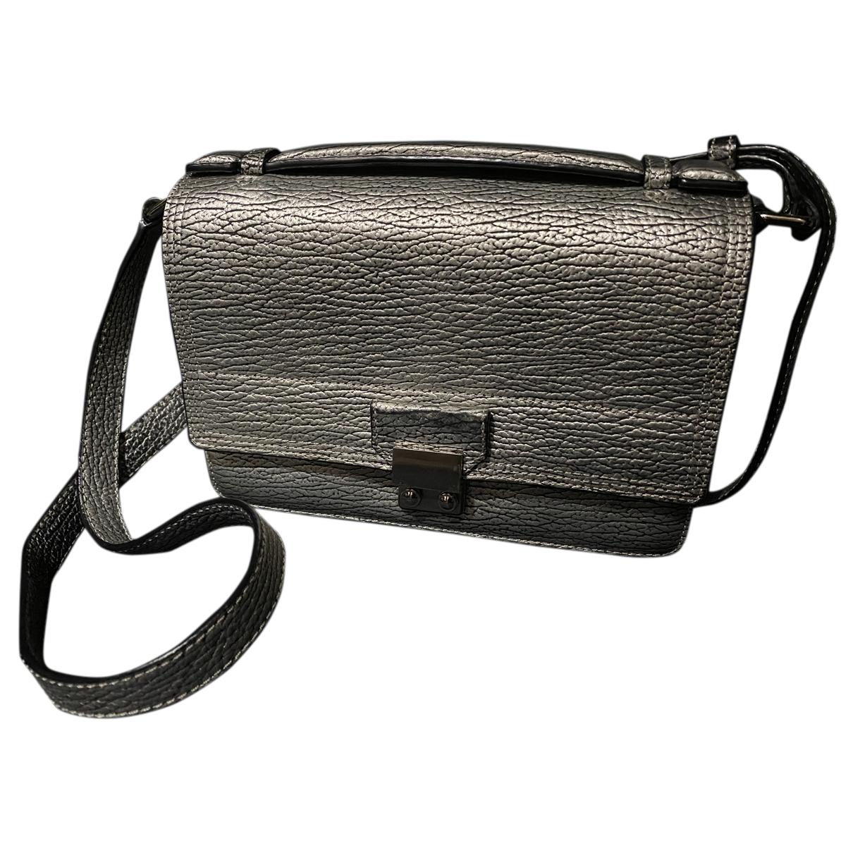 3.1 Phillip Lim \N Handtasche in  Silber Leder