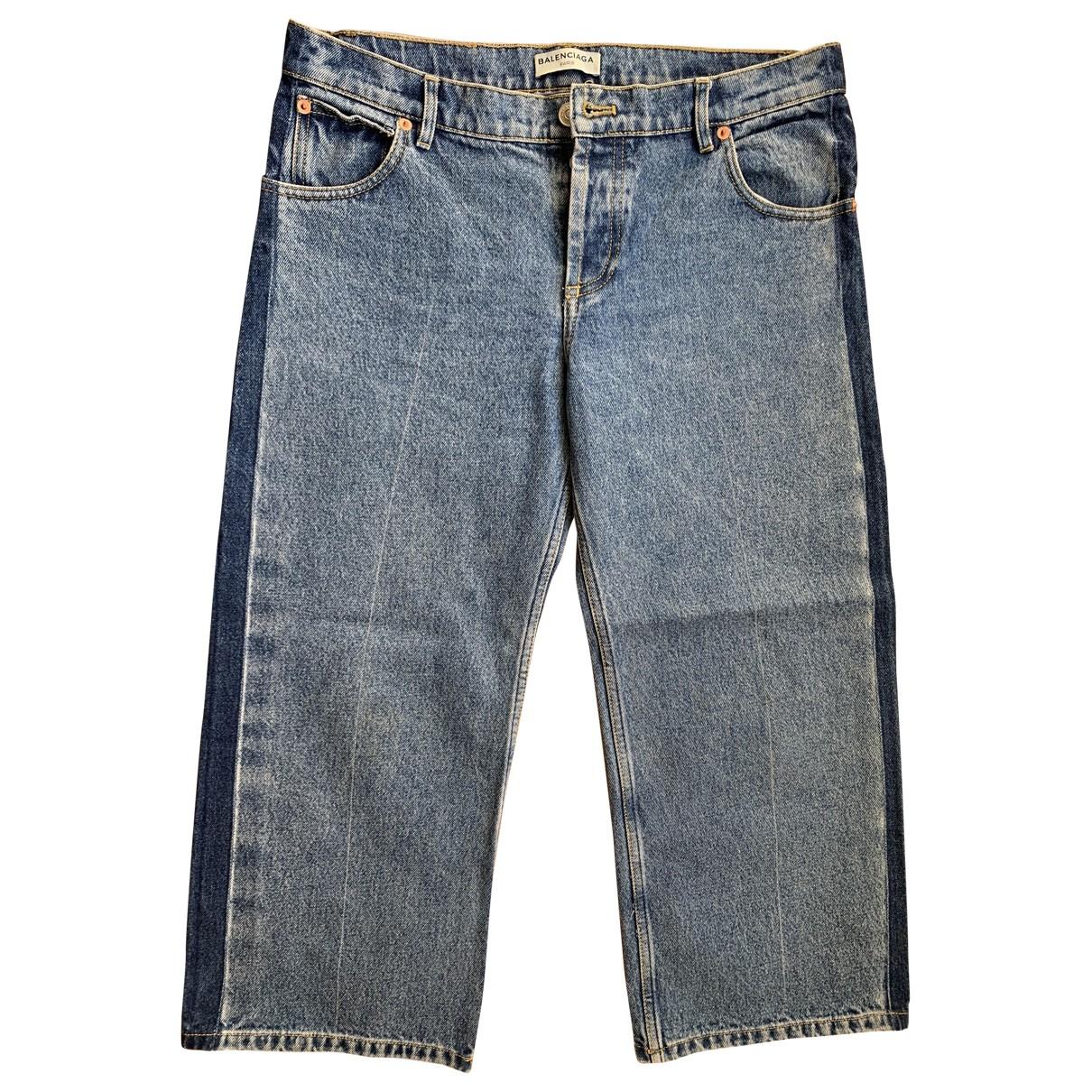 Balenciaga N Blue Denim - Jeans Jeans for Women 38 FR