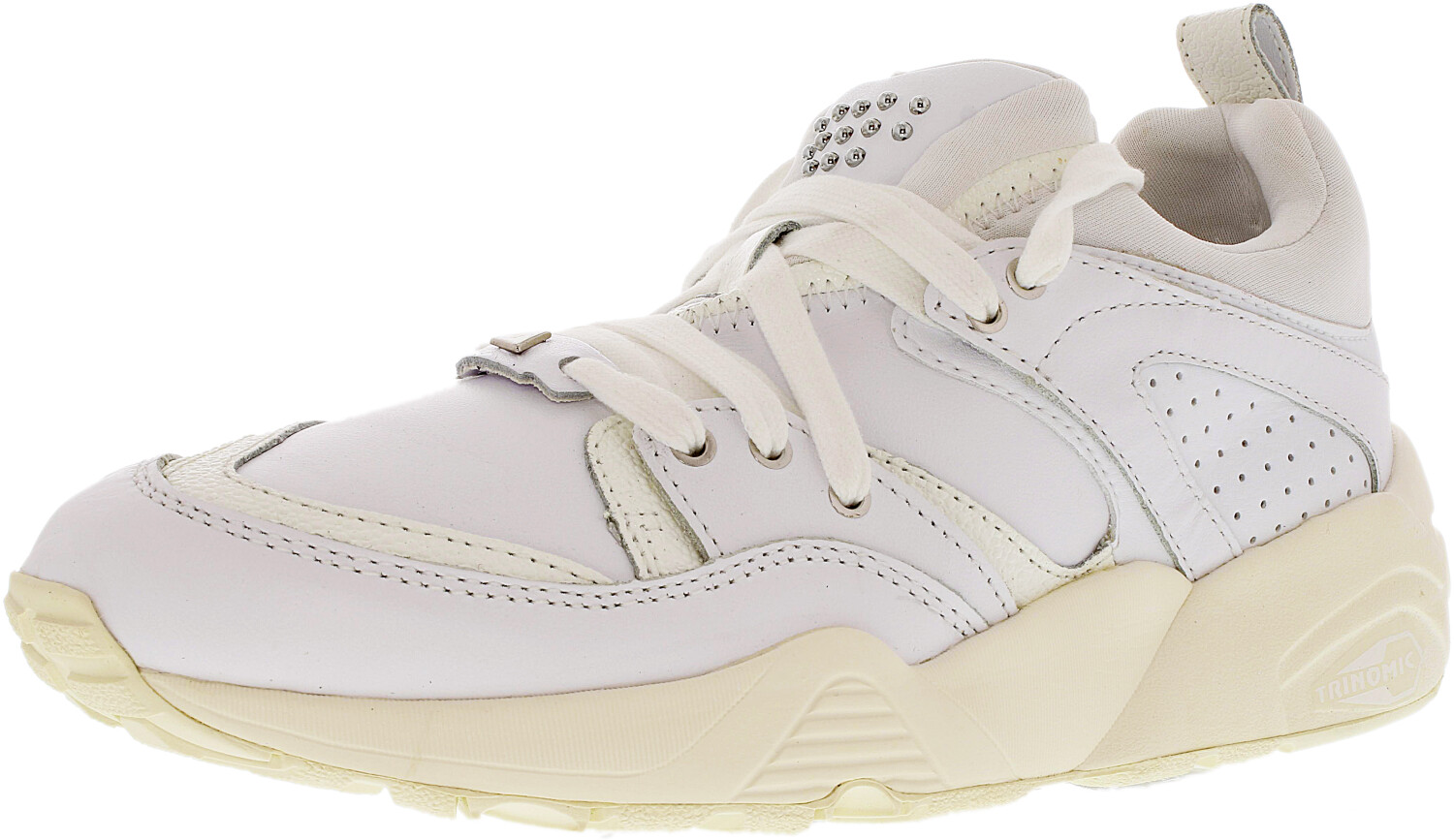 Puma Women's Blaze Of Glory Decor White/Whisper White Ankle-High Sneaker - 6.5M