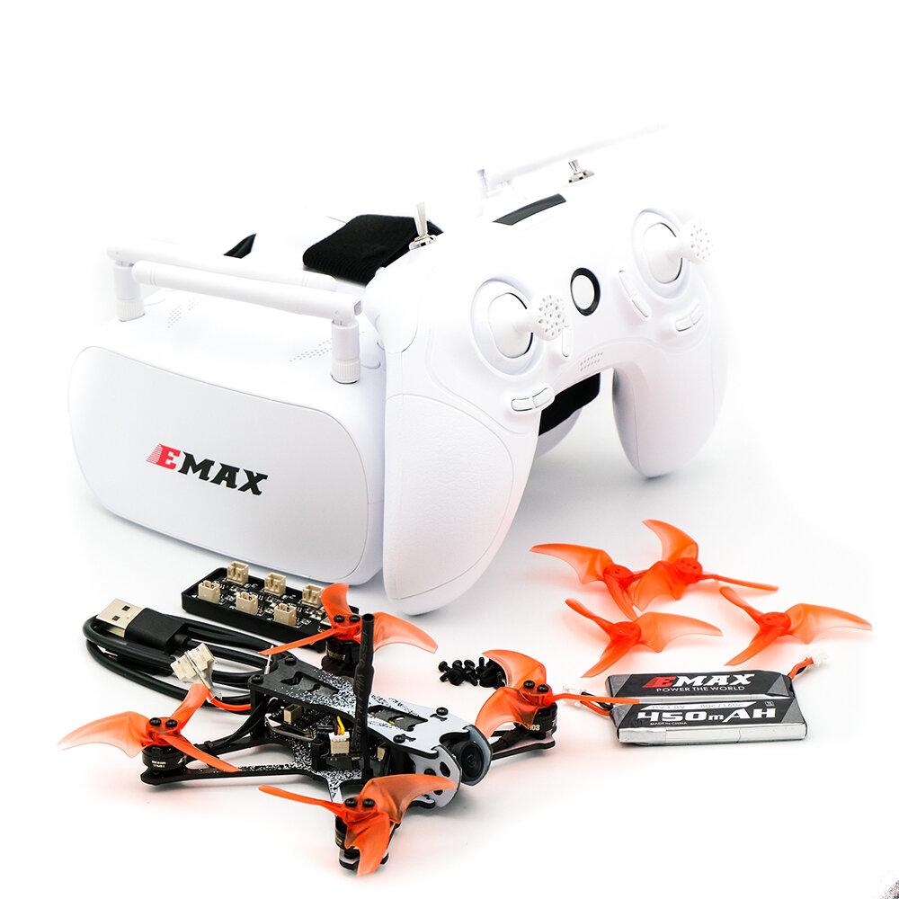 EMAX Tinyhawk II Freestyle 2.5 Inch FPV Racing Drone  5A ESC Frsky D8 Runcam Nano 2 Camera with Goggles - RTF