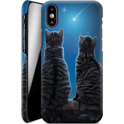 Apple iPhone XS Smartphone Huelle - Wish Upon a Star von Lisa Parker