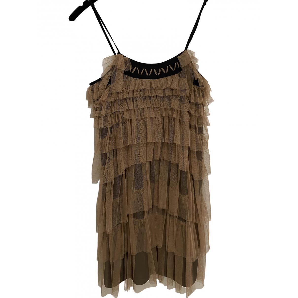 Liu.jo \N Kleid in  Beige Polyester