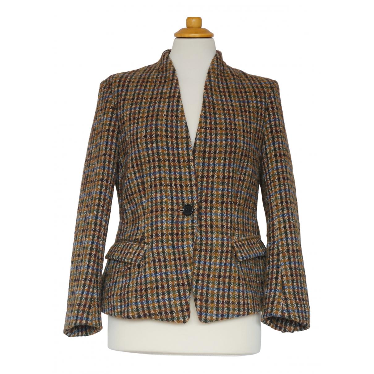 Isabel Marant Etoile \N Jacke in  Braun Wolle