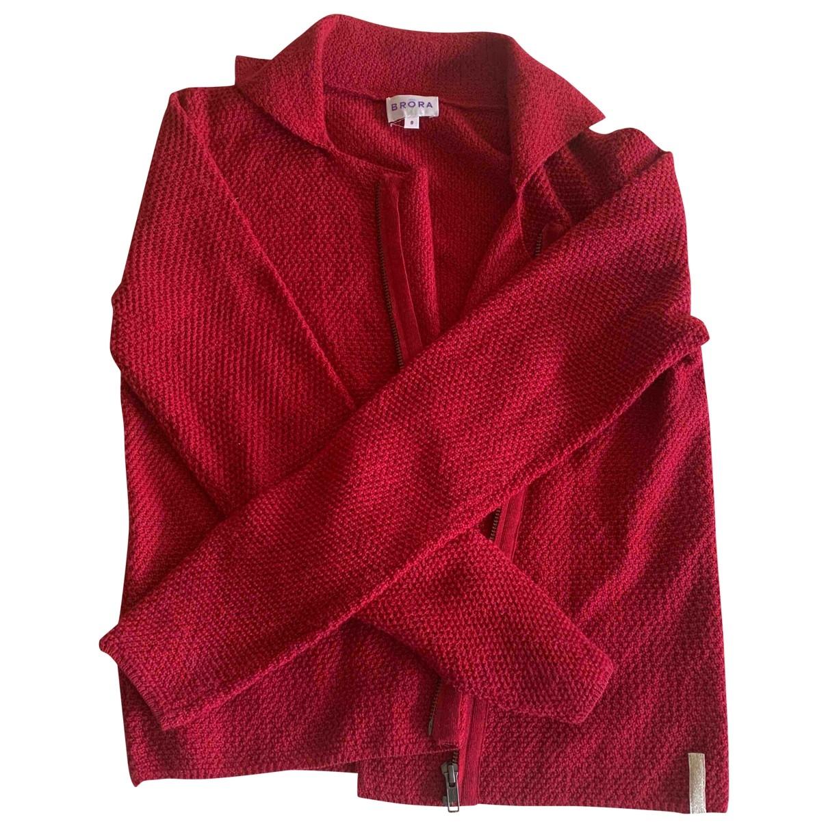 Brora \N Red Wool Knitwear for Women 8 UK