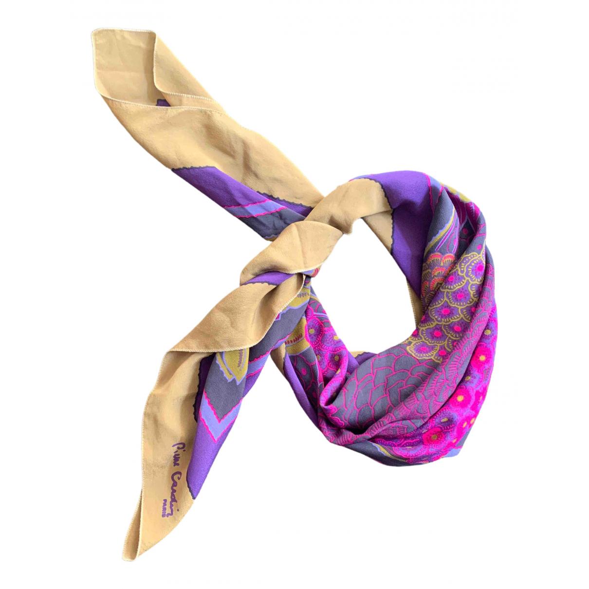 Pierre Cardin \N Pink Silk scarf for Women \N