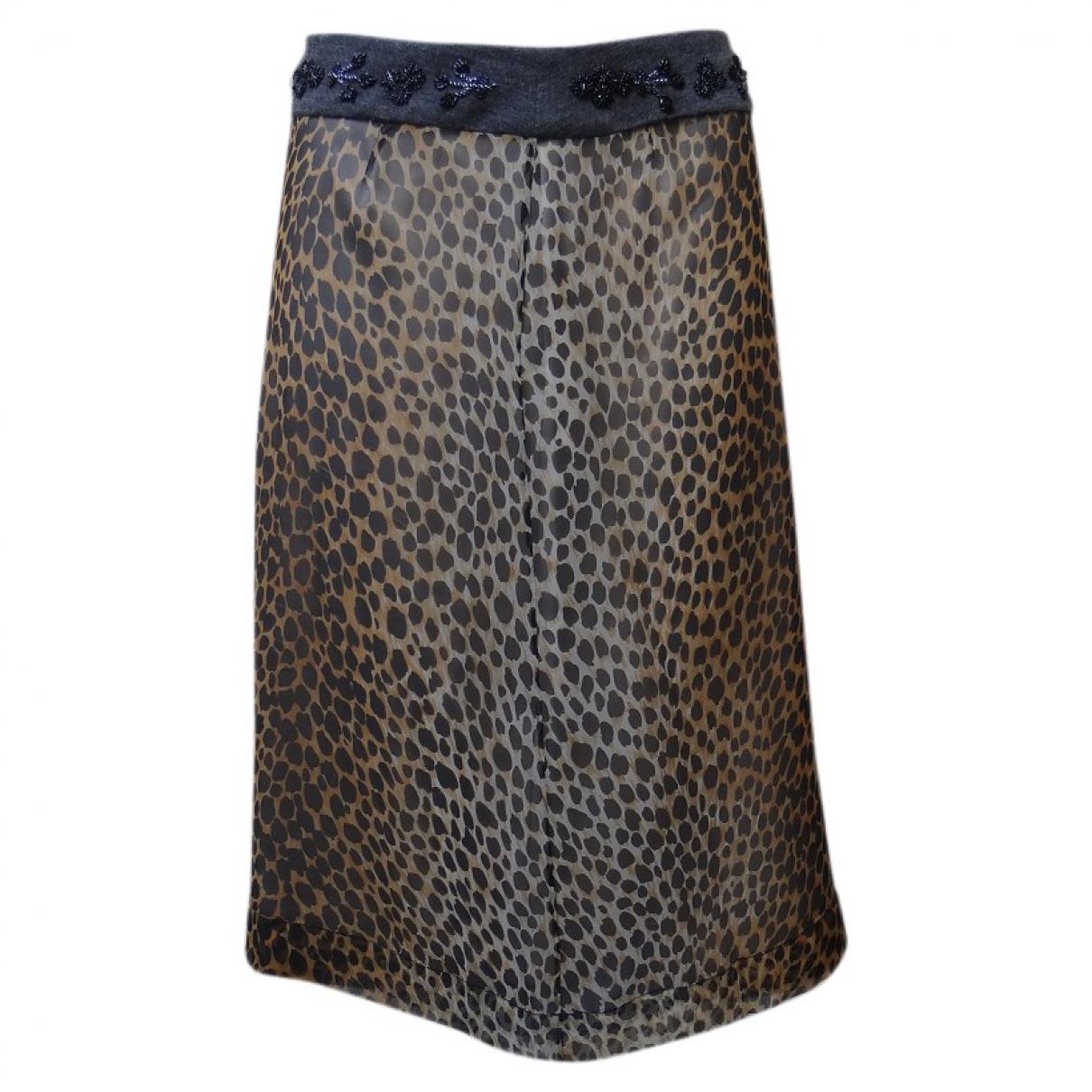 Dolce & Gabbana \N Multicolour Silk skirt for Women 36 FR