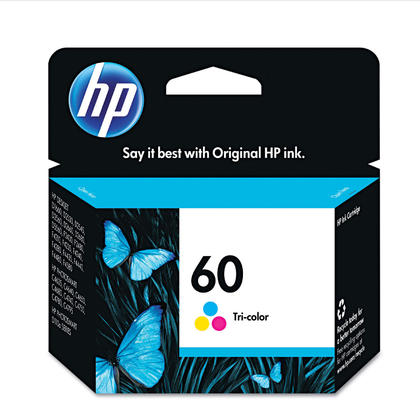 HP 60 CC643WN Original Tri-color Ink Cartridge
