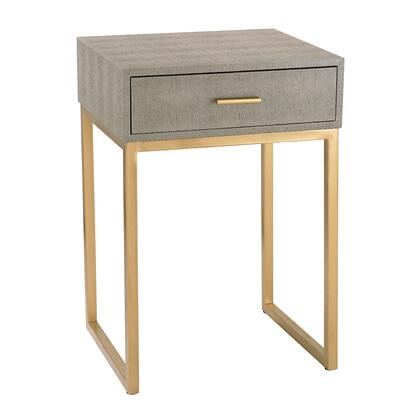 180-010 Shagreen Side Table  In
