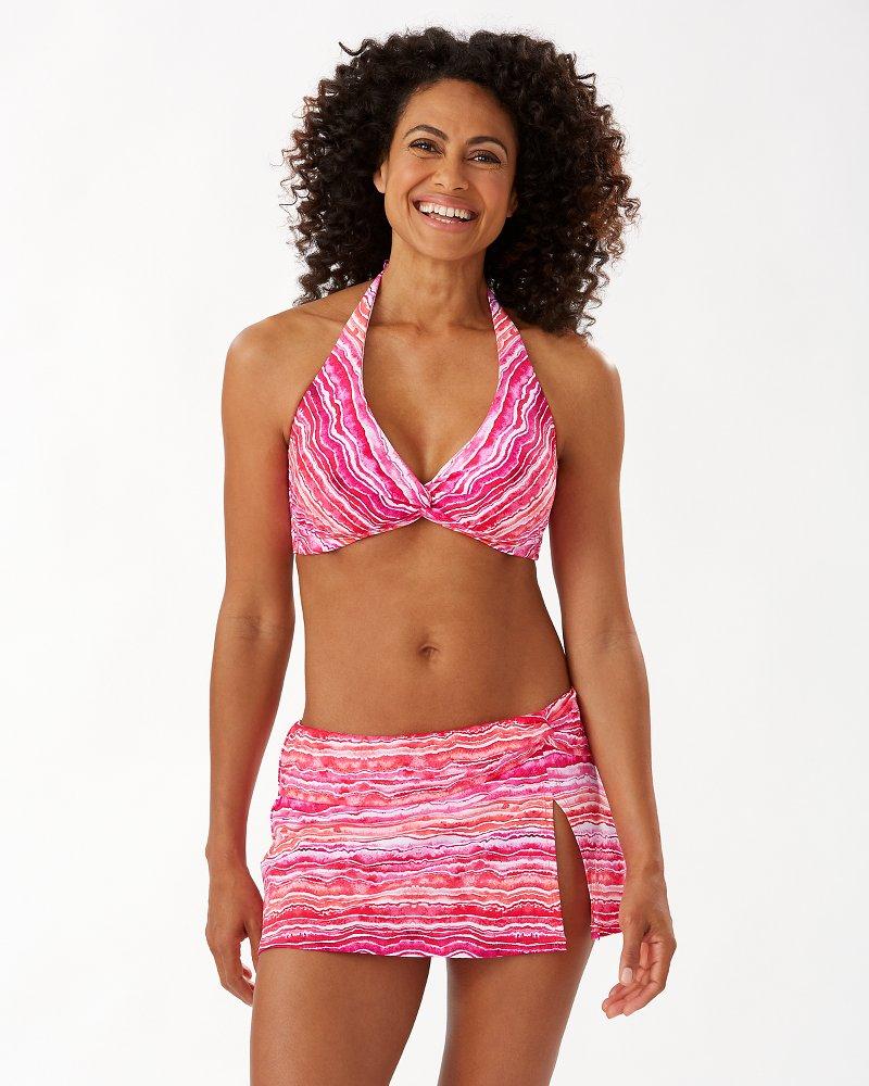 Rainbow Fronds Underwire Bikini Top