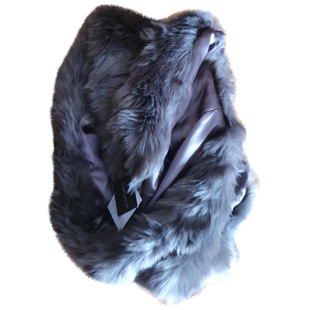 Topshop - Foulard   pour femme - gris