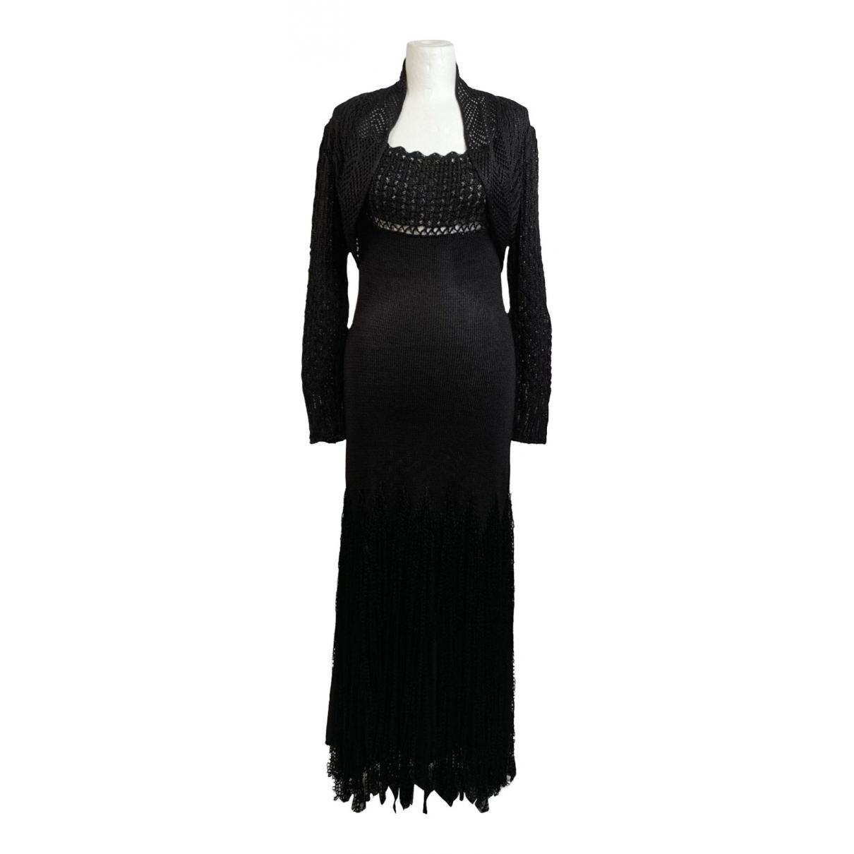 Christian Lacroix \N Black dress for Women 36 FR