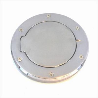 AMI Billet Fuel Doors (Brushed Aluminum) - 6099