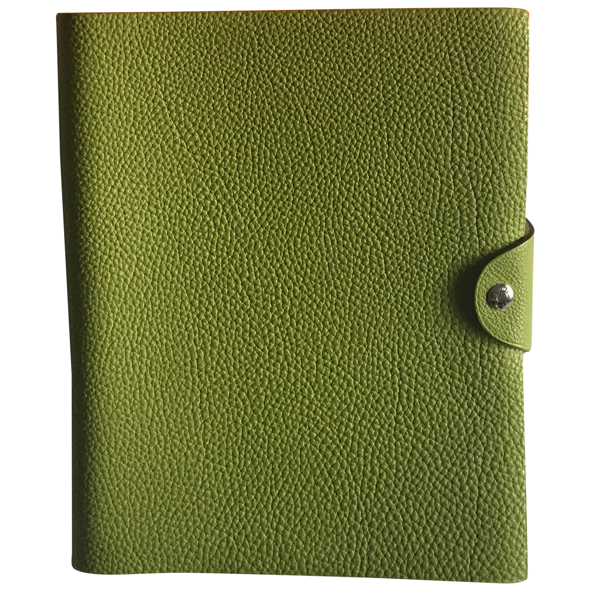 Hermes - Objets & Deco   pour lifestyle en cuir - vert