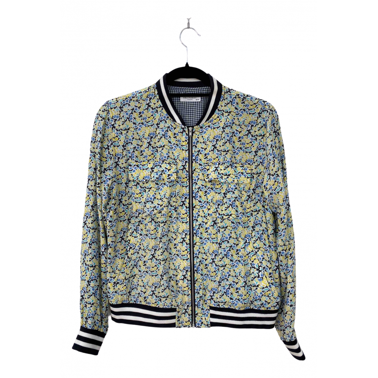 Equipment \N Multicolour Silk jacket for Women XS International