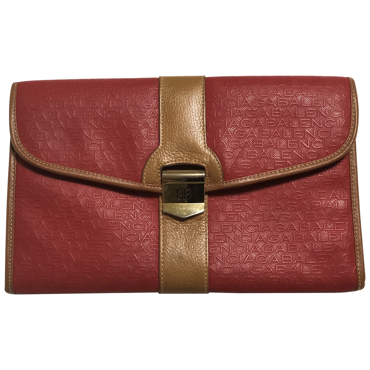 Balenciaga \N Red Cloth Purses, wallet & cases for Women \N