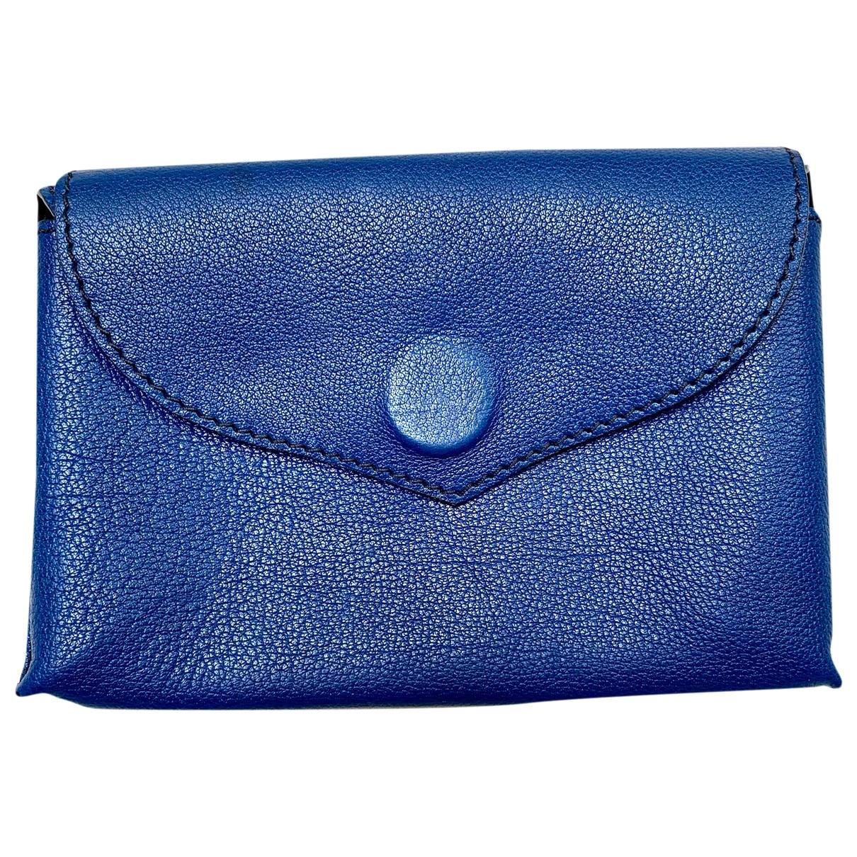 - Objets & Deco   pour lifestyle en cuir - bleu