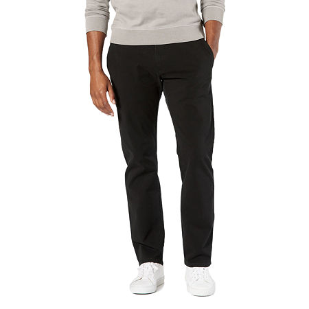 Dockers Men's Ultimate Chino Straight With Smart 360 Flex, 34 34, Black
