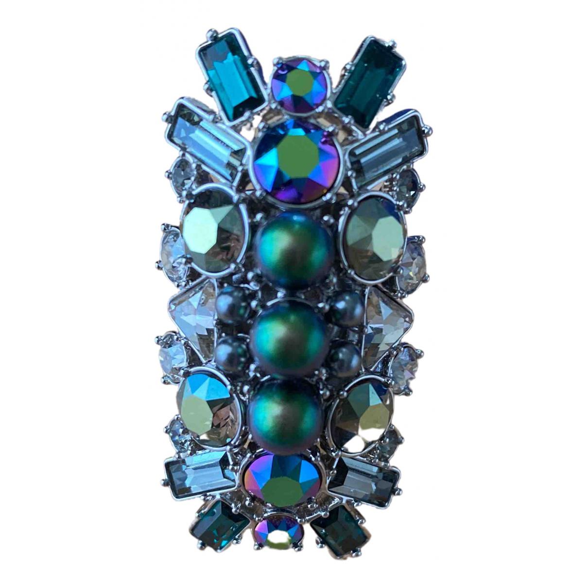 Swarovski \N Ring in  Bunt Metall