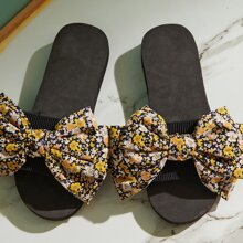 Floral Graphic Bow Decor Sliders