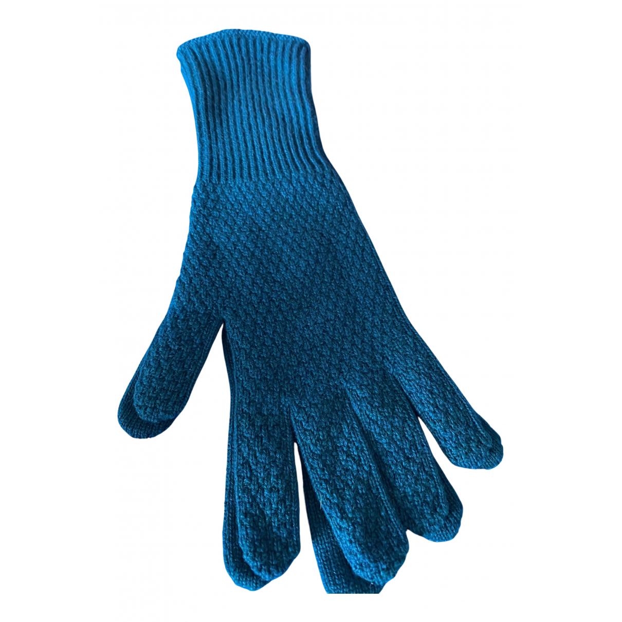 Malo N Green Cashmere Gloves for Women S International