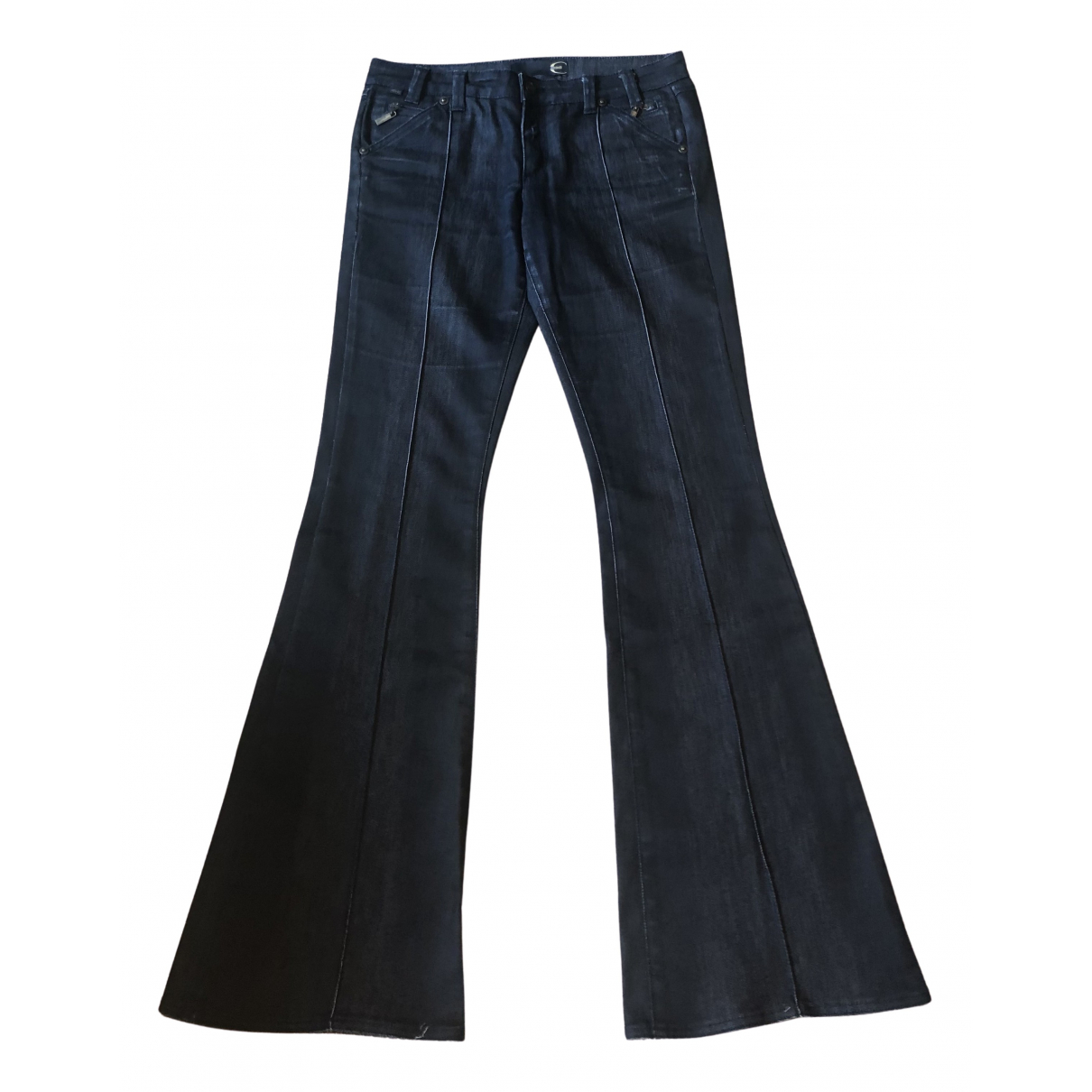 Just Cavalli N Grey Cotton Jeans for Women 38 FR