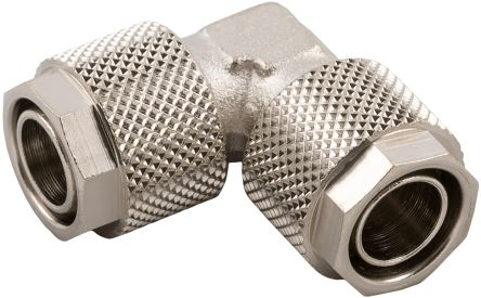 RS PRO Elbow Connector Push In 6 mm to Push In 6 mm (10)