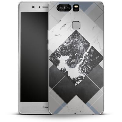 Huawei P9 Silikon Handyhuelle - Geometric Textures 5 von Mareike Bohmer